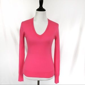 J. Crew Collection Italian Cashmere Pink Sweater